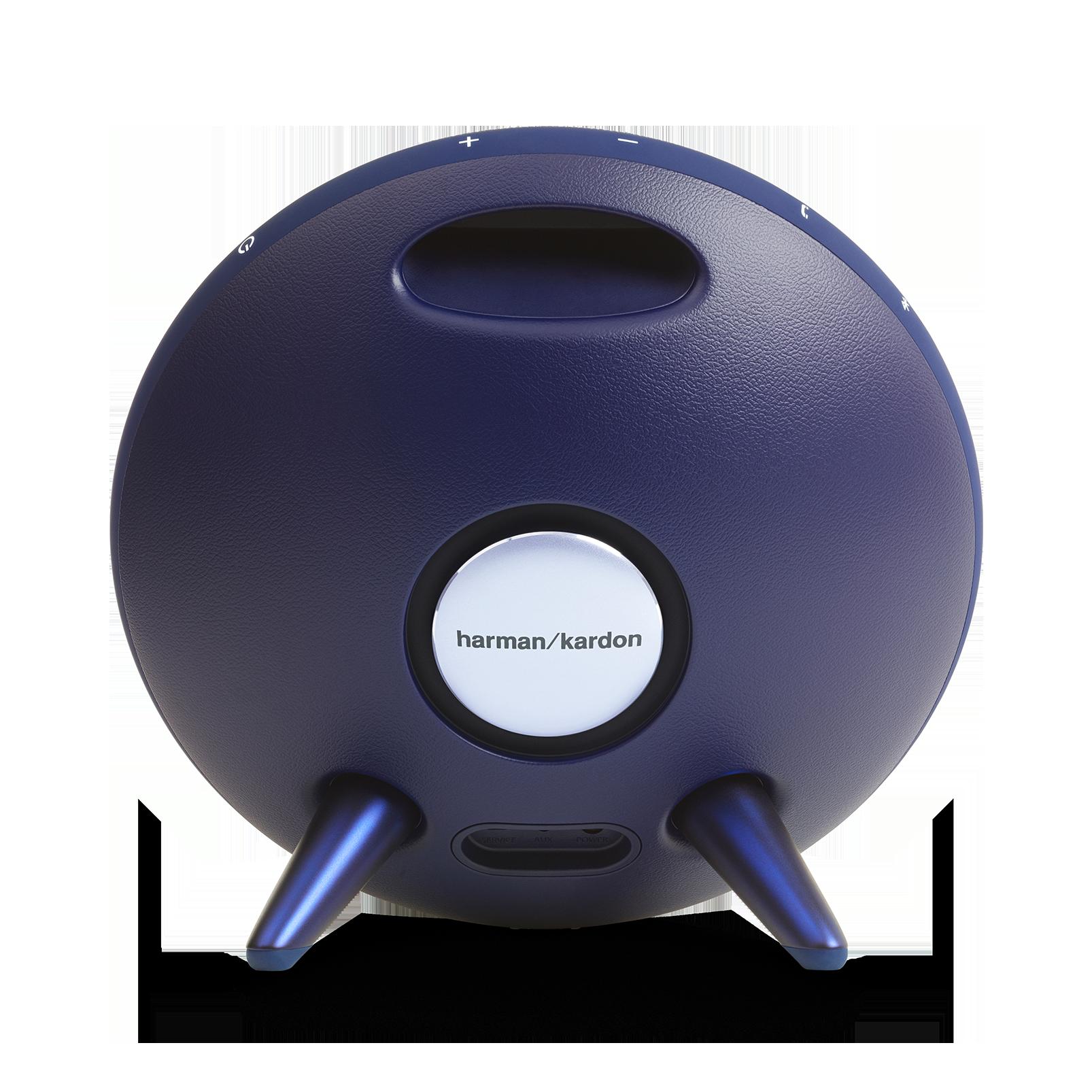Onyx Studio 3 - Blue - Portable Bluetooth Speaker - Back